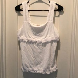 J. Crew tank top with fringe small
